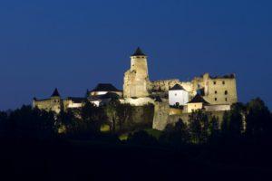 Словакия замок Lubovna
